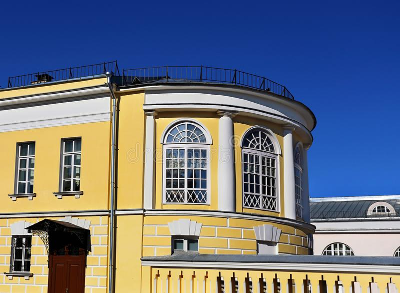 Λεπτομέρεια του frontage κτηρίων στοκ φωτογραφία