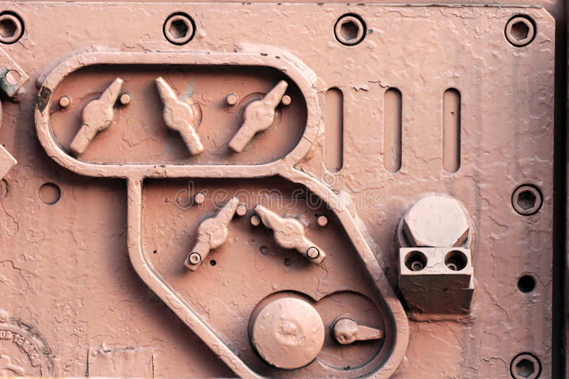 Λεπτομέρεια των βιομηχανικών συναρμολογήσεων στοκ φωτογραφία με δικαίωμα ελεύθερης χρήσης