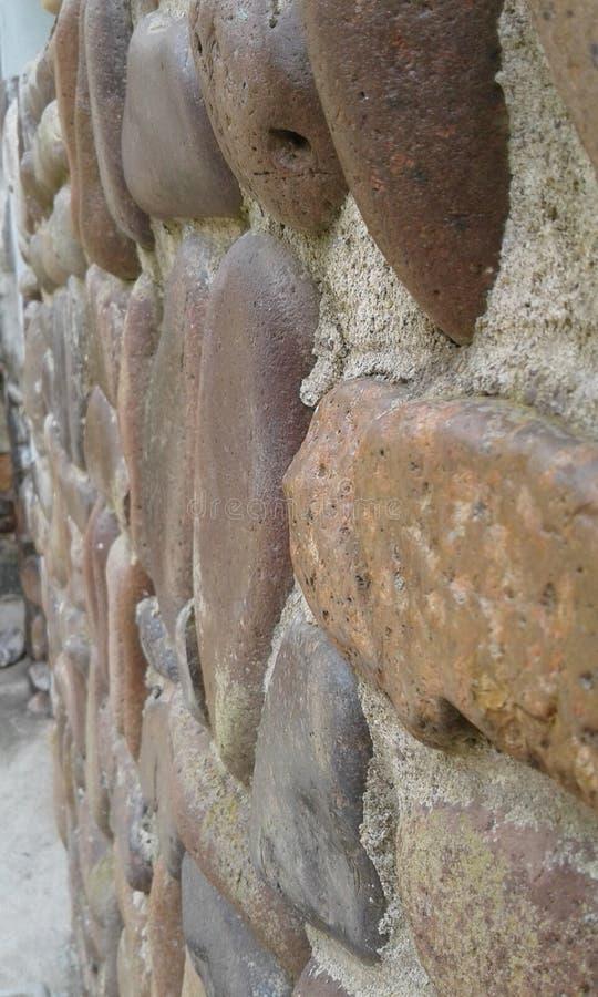 Λεπτομέρεια των πετρών, Maldonado, Ουρουγουάη στοκ φωτογραφίες