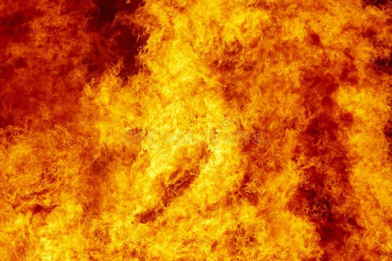 Λεπτομέρεια φλογών πυρκαγιάς Έκτακτη ανάγκη πυροσβεστών Εκπομπή άνθρακα απεικόνιση αποθεμάτων