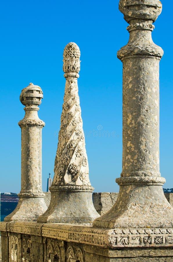Λεπτομέρεια Torre de Βηθλεέμ στοκ φωτογραφίες με δικαίωμα ελεύθερης χρήσης