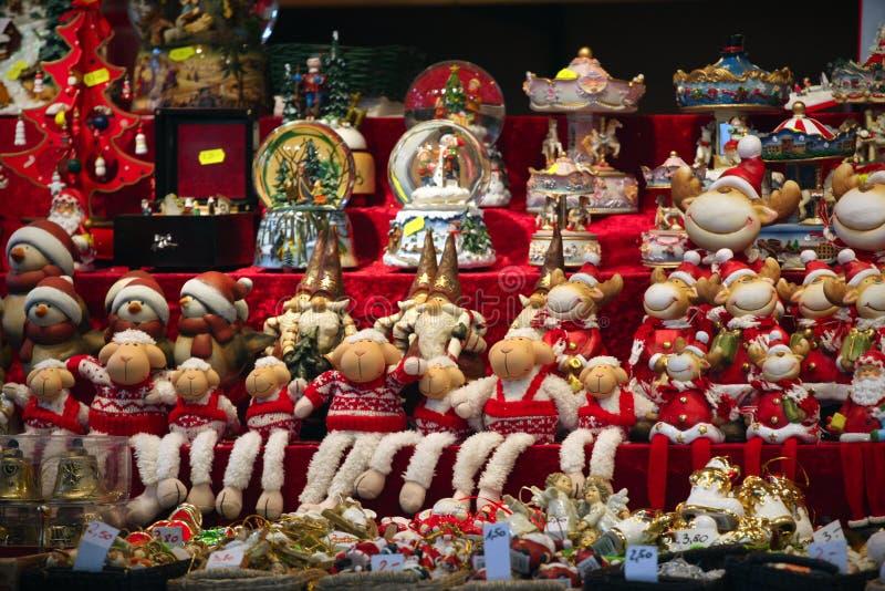 Λεπτομέρειες αγοράς Χριστουγέννων στοκ φωτογραφίες με δικαίωμα ελεύθερης χρήσης