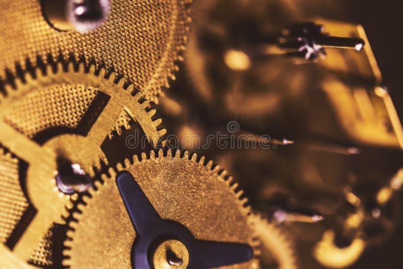 Λεπτομέρειες ενός μηχανισμού, cogwheels και των τμημάτων μηχανισμού στοκ εικόνα με δικαίωμα ελεύθερης χρήσης