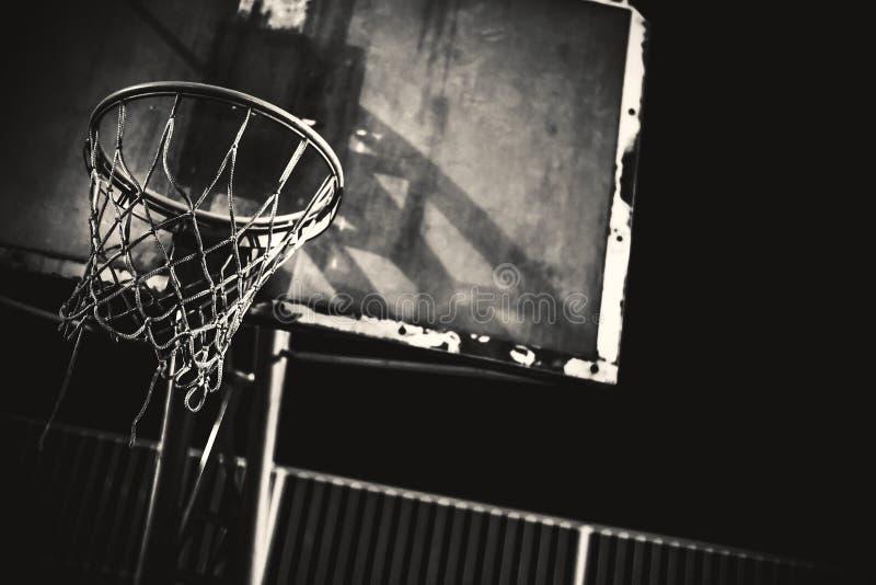 Λεπτομέρειες της στεφάνης καλαθοσφαίρισης στοκ φωτογραφία με δικαίωμα ελεύθερης χρήσης