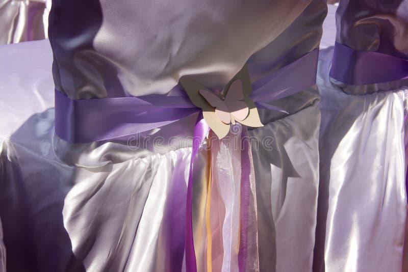 Λεπτομέρειες τοποθέτησης γαμήλιας τελετής στοκ φωτογραφίες με δικαίωμα ελεύθερης χρήσης