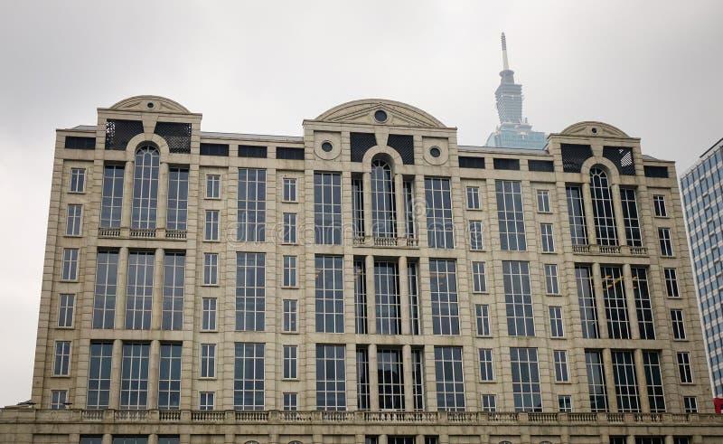 Λεπτομέρειες του κυβερνητικού κτηρίου στη Ταϊπέι, Ταϊβάν στοκ φωτογραφία