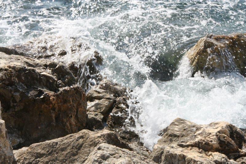 Λεπτομέρειες του νερού σε Villefrance sur LE mer, Γαλλία στοκ φωτογραφία με δικαίωμα ελεύθερης χρήσης