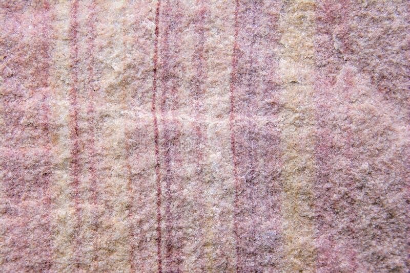 Λεπτομέρειες του υποβάθρου σύστασης ψαμμίτη Υπόβαθρο σύστασης πετρών άμμου Όμορφη ρόδινη σύσταση ψαμμίτη στοκ εικόνες