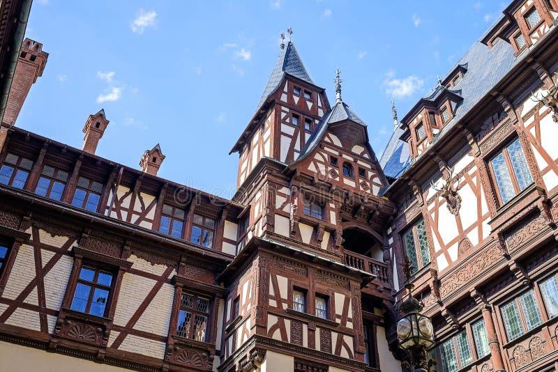 Λεπτομέρειες του Castle Peles σε Sinaia, Ρουμανία 4 στοκ φωτογραφία με δικαίωμα ελεύθερης χρήσης