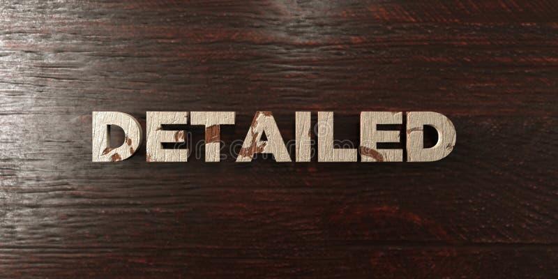 Λεπτομερές - βρώμικος ξύλινος τίτλος στο σφένδαμνο - τρισδιάστατο δικαίωμα ελεύθερη εικόνα αποθεμάτων ελεύθερη απεικόνιση δικαιώματος