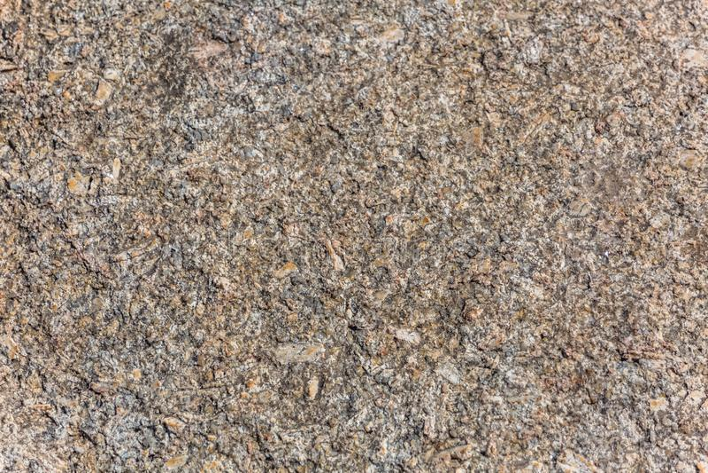 Λεπτομερής άποψη της χαρακτηριστικής σύστασης της πέτρας γρανίτη στοκ εικόνα με δικαίωμα ελεύθερης χρήσης