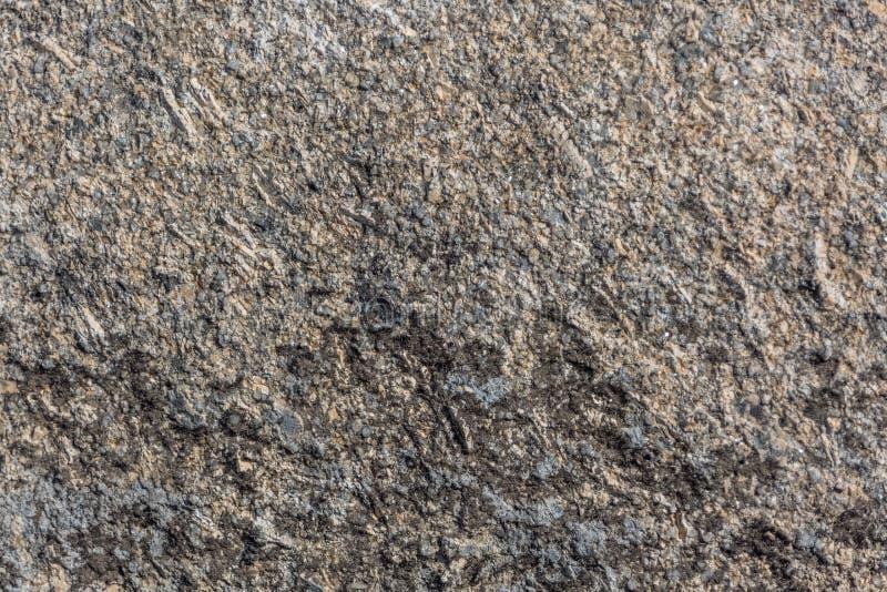 Λεπτομερής άποψη της χαρακτηριστικής σύστασης της πέτρας γρανίτη στοκ φωτογραφίες