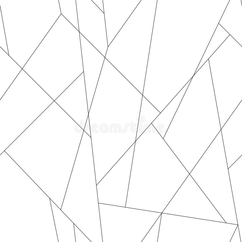 Λεπτό σχέδιο γραμμών Άνευ ραφής διανυσματικό καθιερώνον τη μόδα μοντέρνο λεπτό μαύρο υπόβαθρο κτυπημάτων διανυσματική απεικόνιση