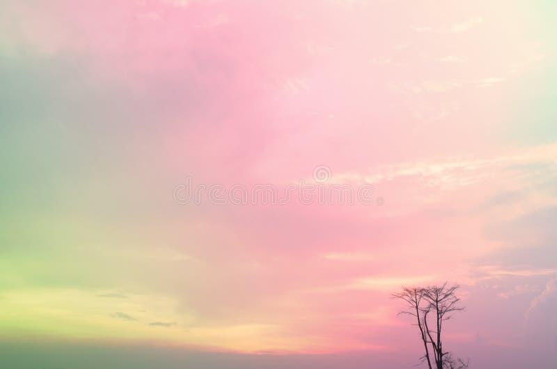 Λεπτό υπόβαθρο του όμορφου ουρανού κρητιδογραφιών στοκ φωτογραφίες με δικαίωμα ελεύθερης χρήσης