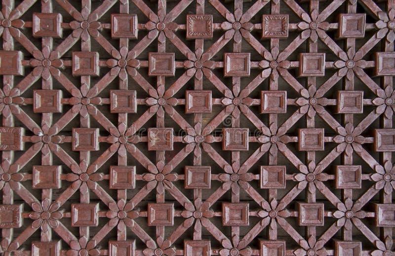 Λεπτό χαρασμένο δικτυωτό πλέγμα παραθύρων στοκ φωτογραφία με δικαίωμα ελεύθερης χρήσης