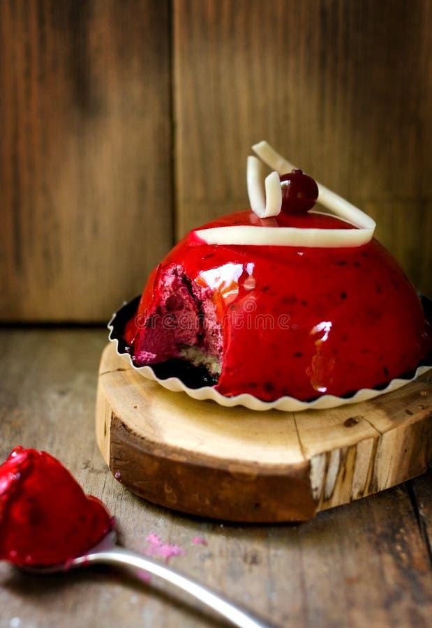 Λεπτό souffle φρούτων στοκ φωτογραφία