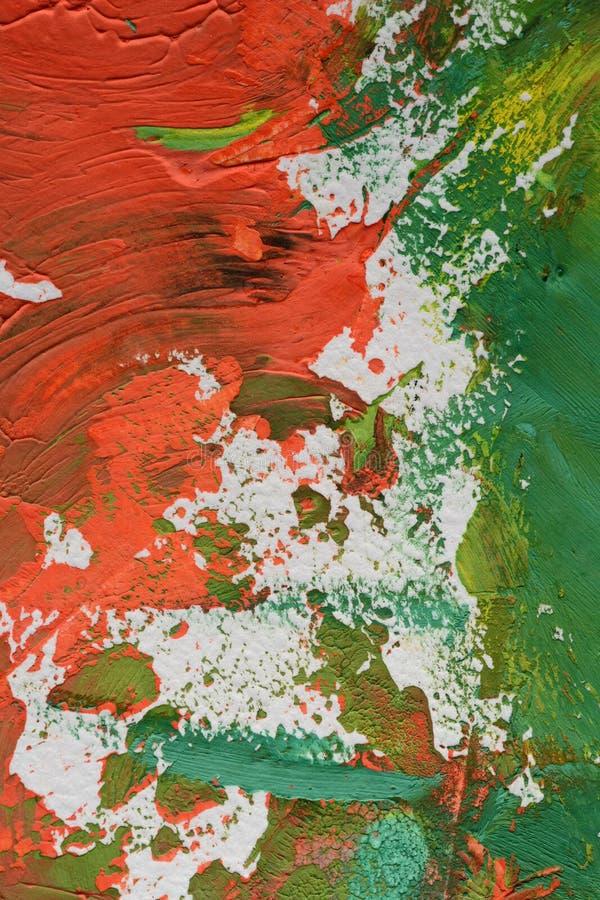 Λερωμένο χρώμα σε χαρτί στοκ φωτογραφία με δικαίωμα ελεύθερης χρήσης