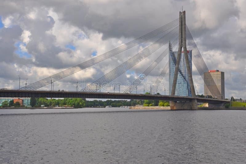 Λετονία Ρήγα στοκ φωτογραφίες