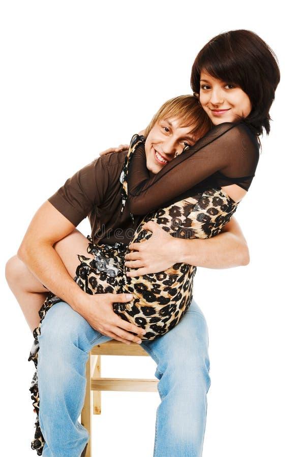 Download λευκές νεολαίες ζευγ στοκ εικόνες. εικόνα από κορίτσι - 13176266
