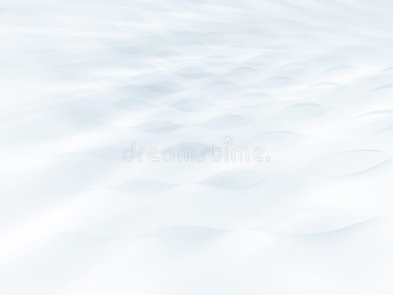 λευκό αμμόλοφων διανυσματική απεικόνιση