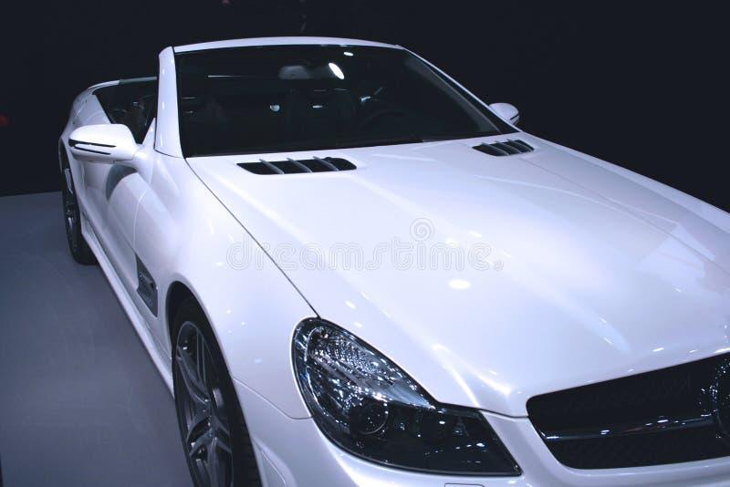 λευκό αυτοκινήτων στοκ εικόνα