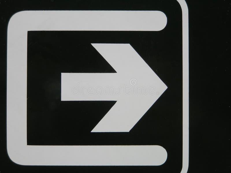 λευκό βελών στοκ εικόνα με δικαίωμα ελεύθερης χρήσης