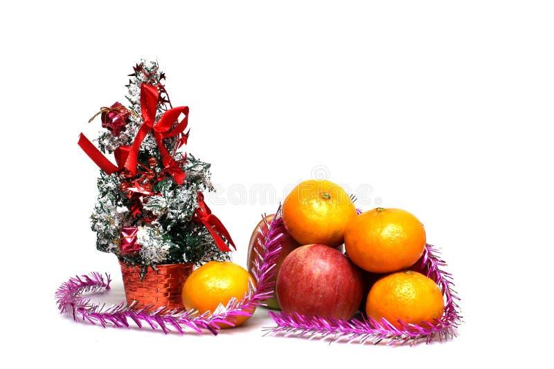 λευκό διακοσμήσεων Χρι&si στοκ φωτογραφία