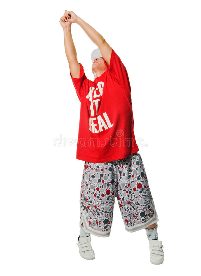 Download λευκό εκτελεστών Breakdance ανα& Στοκ Εικόνες - εικόνα από εικόνα, όμορφος: 13177668