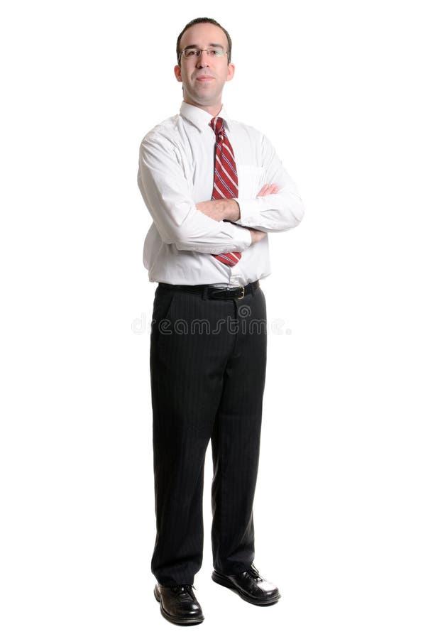 λευκό επιχειρηματιών στοκ φωτογραφία