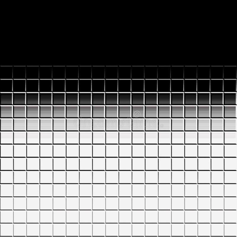 λευκό κεραμιδιών ανασκόπ& διανυσματική απεικόνιση