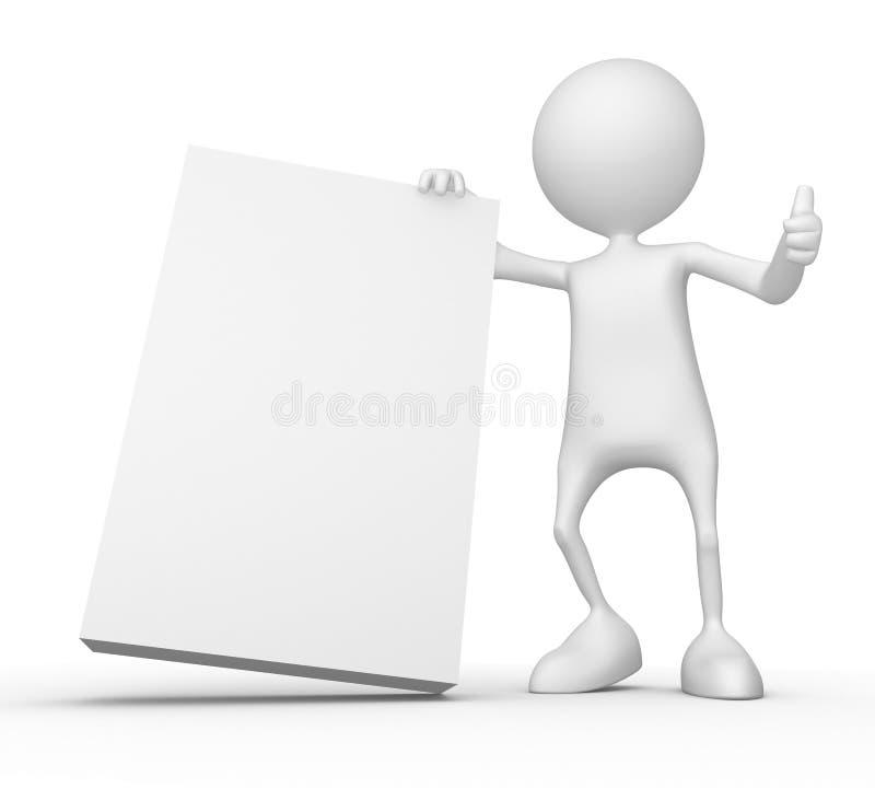 λευκό κιβωτίων απεικόνιση αποθεμάτων