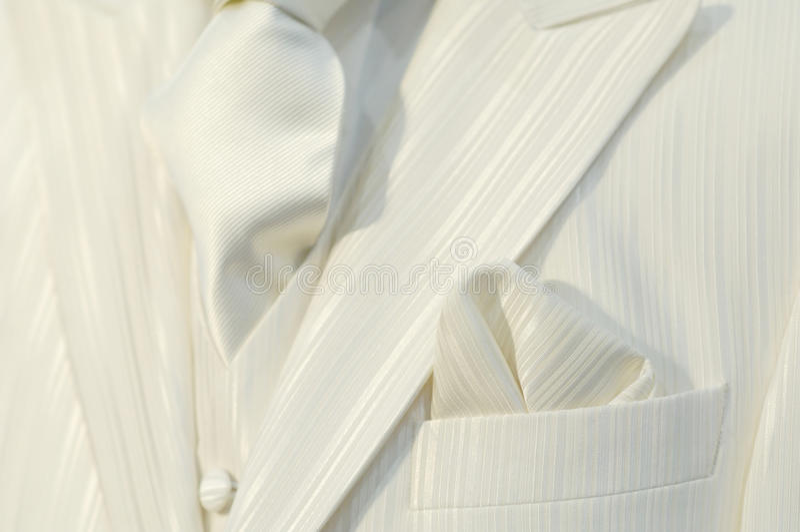 λευκό κοστουμιών στοκ εικόνα