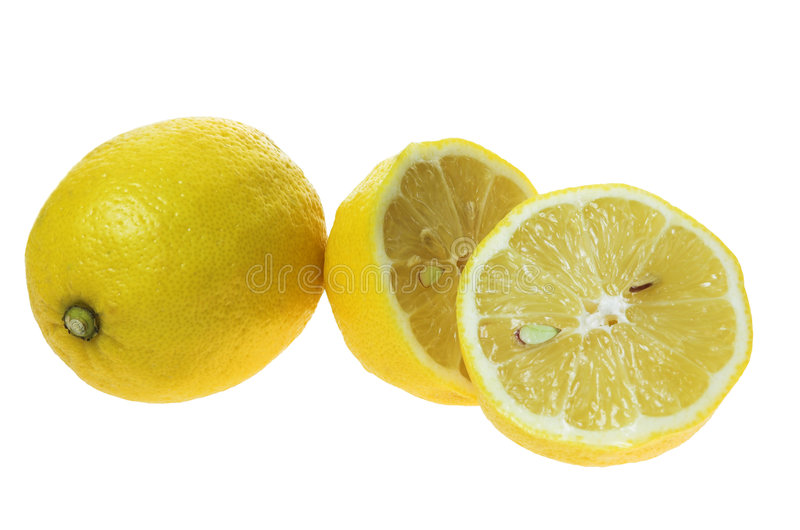 λευκό λεμονιών ανασκόπησ στοκ εικόνες