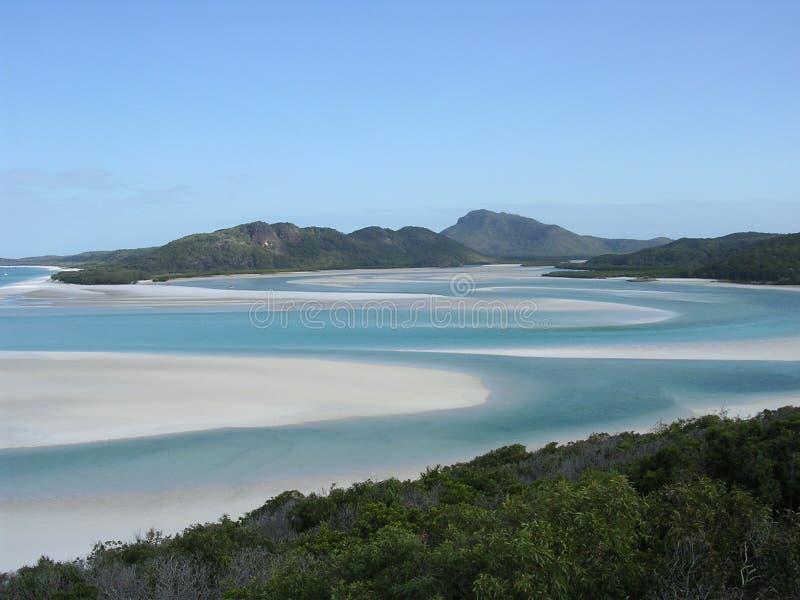λευκό λιμανιών παραλιών στοκ φωτογραφίες