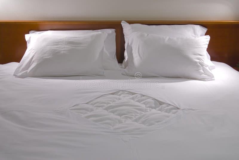 λευκό μαξιλαριών στοκ εικόνες