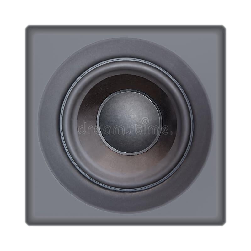 λευκό μεγάφωνων στοκ φωτογραφία με δικαίωμα ελεύθερης χρήσης