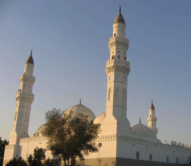 λευκό μουσουλμανικών τεμενών στοκ εικόνα