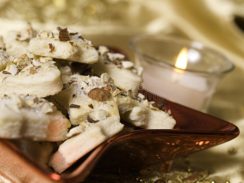 λευκό μπισκότων στοκ εικόνα