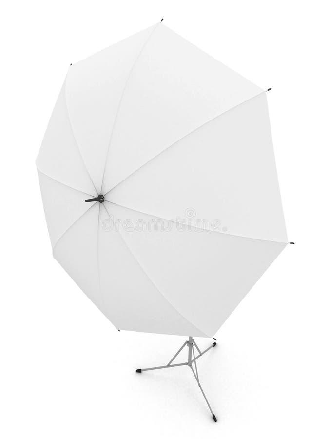 λευκό ομπρελών φωτογραφ απεικόνιση αποθεμάτων