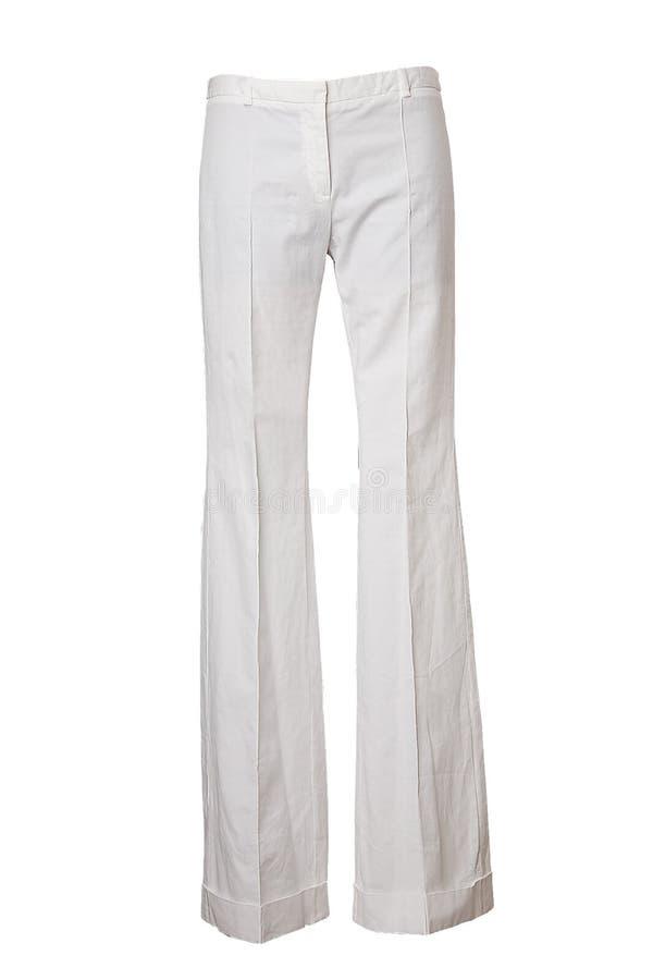 λευκό παντελονιού στοκ εικόνα