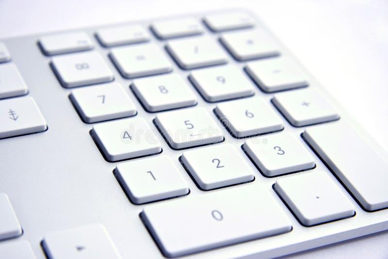 λευκό πληκτρολογίων αν&alp στοκ εικόνες