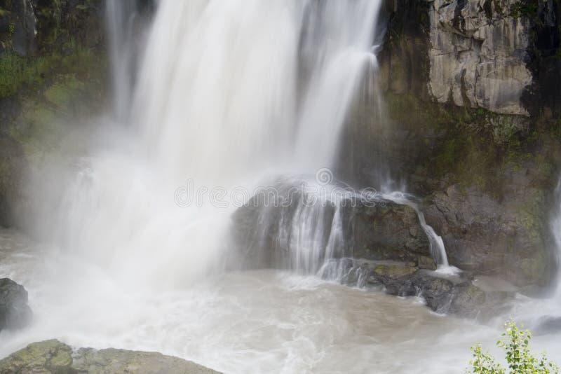 λευκό ποταμών πτώσεων στοκ εικόνες