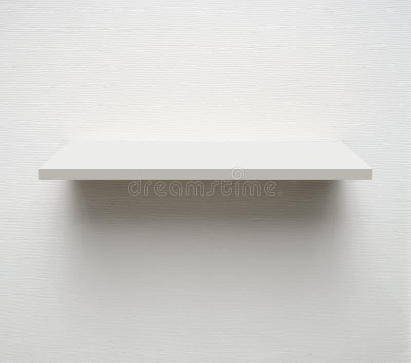 λευκό ραφιών στοκ εικόνες