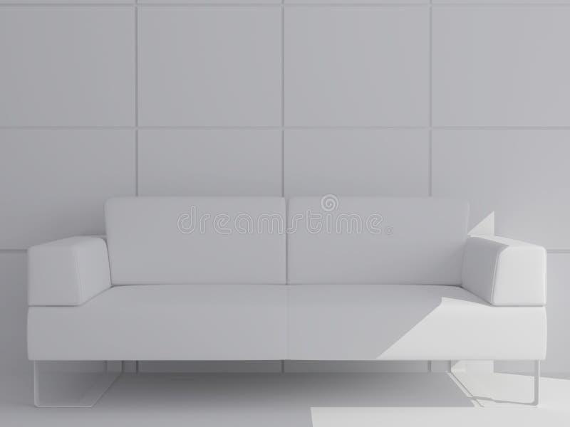 λευκό σαλονιού απεικόνιση αποθεμάτων