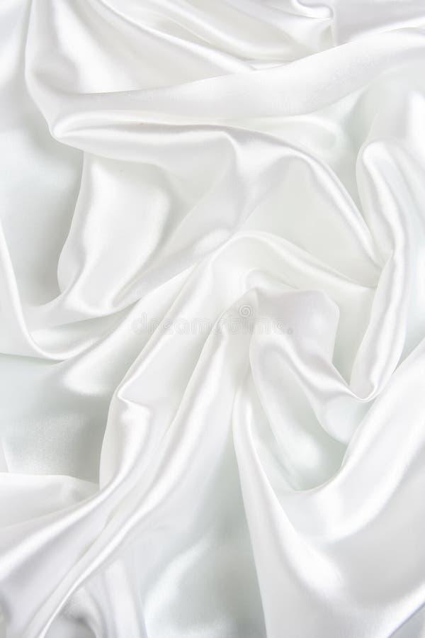 λευκό σατέν ανασκόπησης στοκ εικόνες με δικαίωμα ελεύθερης χρήσης