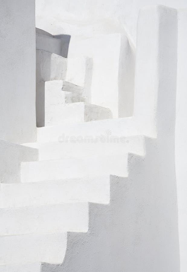 λευκό σκαλοπατιών στοκ εικόνες με δικαίωμα ελεύθερης χρήσης