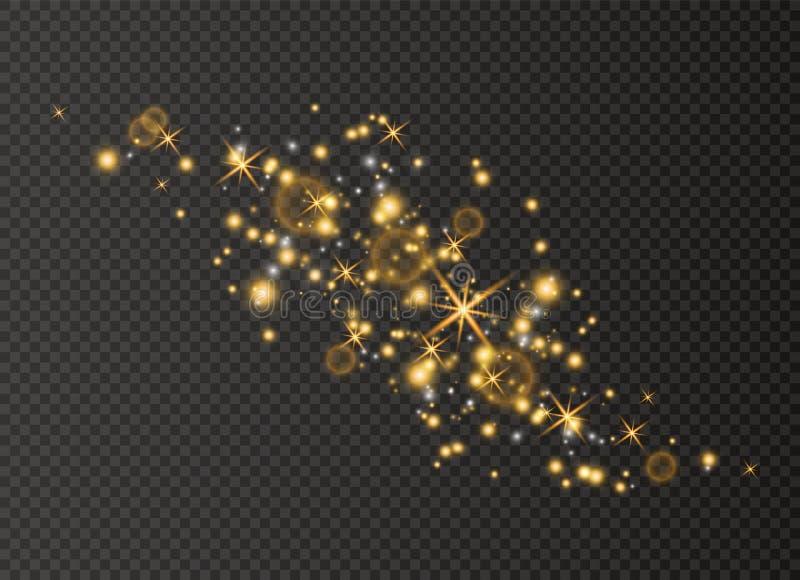 Λευκό σκόνης Χριστουγέννων ελεύθερη απεικόνιση δικαιώματος