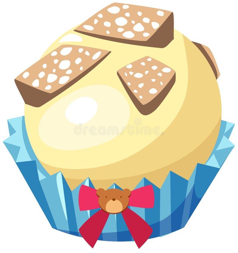 Download λευκό σοκολάτας διανυσματική απεικόνιση. εικονογραφία από σοκολάτα - 22784130