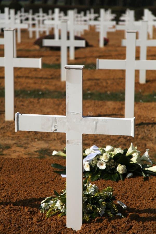 λευκό σταυρών στοκ φωτογραφία