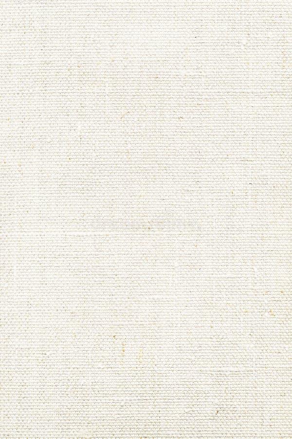 λευκό σύστασης καμβά στοκ εικόνα με δικαίωμα ελεύθερης χρήσης